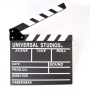 Filmklappa 30x27cm - Tagning pågår