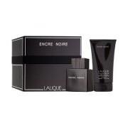 Set Lalique Encre Noire, Barbati, Apaa de toaleta 100ml+Gel de dus 150ml