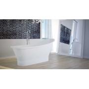 Niagara Wellness Greta / Gloria 160×68 cm öntött márvány szabadonálló kád