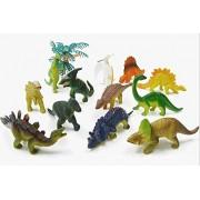 Zero Shop(Tm) 12 Pcs Assorted Dinosaurs Toys, Mini Size Dinosaur Figures