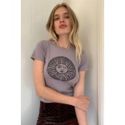 Urban Outfitters UO - T-shirt court Celestial Sun- taille: S