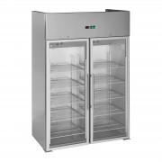 Royal Catering Vetrina frigo con due porte in vetro - 984 L - Per uso professionale