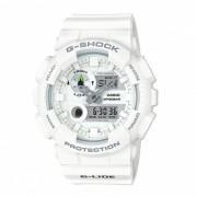 casio g-shock GAX-100A-7A G-LIDE reloj deportivo resistente al agua de 200 metros de resistencia magnetica con termometro - blanco