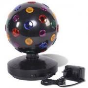 Multistore 2002 - Sfera rotante illuminata per discoteca, 9 LED, � 20 cm