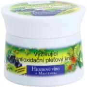 Bione Cosmetics Grapes creme nutritivo antioxidante para rosto 51 ml