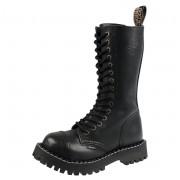 Unisex Lederstiefel Boots - STEEL - 135/136/Z