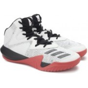 Adidas CRAZY TEAM 2017 Basketball Shoes For Men(White)