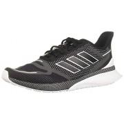 Adidas Nova Run Tenis para Correr para Hombre, Color Core Black/Core Black/Footwear White, 11