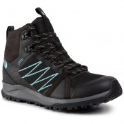 Туристически THE NORTH FACE - Litewave Fastpack II Mid Gtx GORE-TEX T93RECU3B Tnf Black/Aqua Splash