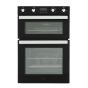 Belling BI902MFCT Blk Double Built In Electric Oven - Black