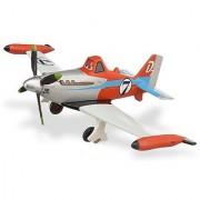 Disney PLANES -TURBO DUSTY Jet Set - Die Cast Plane - 1:43 Scale