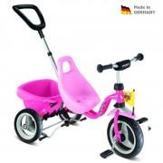 Gyermek piros háromkerekűjével Carry Touring Tipper CAT 1 S pink 2325