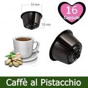 Caffè Kickkick 16 Caffè Al Pistacchio Nescafè Dolce Gusto Capsule Compatibili