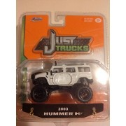 Jada 1:64 Just Trucks 2003 Hummer H2 White #074