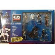 Star Wars Classic Collector Series Set : Luke Skywalker Darth Vader Han Solo C-3po R2-D2 Chewbacca B