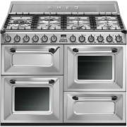 SMEG Tr4110x Cucina 110x60 7 Fuochi A Gas Triplo Forno Classe A Colore Inox