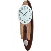 Ceas de perete cu pendul Adler Quartz 7233-w