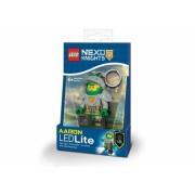 Breloc cu lanterna LEGO Nexo Knights Aaron (LGL-KE98)