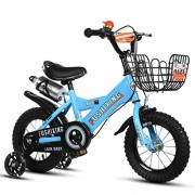 SL&VE Kids Bike, Gifts for Children 2-9 Years Old Boys and Girls Balancing Bikes with Training wheels-C 16""