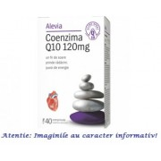 Coenzima Q10 120 mg 40 comprimate Alevia