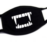 Ochranné masky na obličej textilní 100% bavlna - Upír