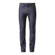 HUGO BOSS Delaware slim fit 5-pocket broek met dessin