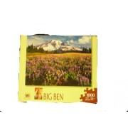 Mb Puzzle Big Ben Wildflowers, Mount Rainer Nationalpark, Wa