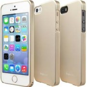Skin Ringke Eco Slim iPhone 5 5S Royal Gold + Folie