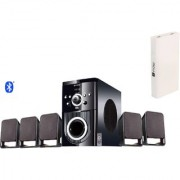 Flow Buzz 5.1 Bluetooth Home Theater System with 13000mAh Power Bank