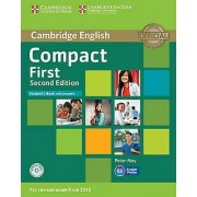 Compact First Students Book with Answers with CDROM by Peter May