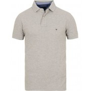 Tommy Hilfiger Regular Fit Performance Stretch Polo Cloud Heather