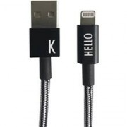 Design Letters Lightning Cable 1 Meter A-Z K