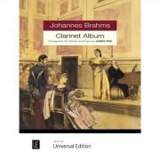 Universal Edition Johannes Brahms: Clarinet Album
