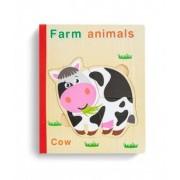 Carte puzzle lemn - Animale domestice