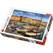 Puzzle Port vechi in saint Tropez, 1500 piese