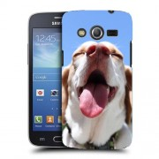 Husa Samsung Galaxy Core 4G LTE G386F Silicon Gel Tpu Model Funny Dog