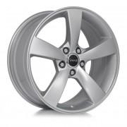 Avus Af10 8x18 5x100 Et35 73.1 Silver - Llanta De Aluminio