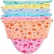 Tahiro MultiColour Cotton Printed Nappies For Kids - Pack Of 6