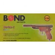 Prijam Air Gun Bond-1 Wooden Body 100 Pellets For Target Practice
