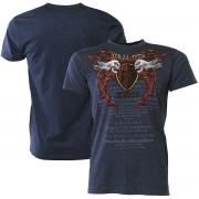 """Forza MMA Forza sport """"odödliga Crest"""" MMA T-Shirt-Midnight Navy L"""