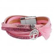Rózsaszín karkötő - 41 cm - 9030003-001