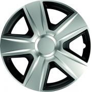 Set 4 capace roti de 14 inch Mega Drive Silver & Black Esprit