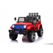 Masinuta electrica de teren pentru copii 4x4 Allroad Rosu 4x45W 12V cu control parental