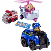 Paw Patrol Three Piece Vehicle Set Rescue Racers 2 6024761