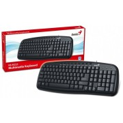 Tastatura USB YU Genius KB-M225, C, CB crna -