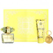 Versace Yellow Diamond coffret VIII. Eau de Toilette 90 ml + leite corporal 100 ml + porta-chaves 1 ks