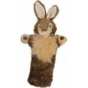 Jucarie educativa The Puppet Company Hand Doll - Wild Rabbit