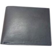 ALW Men Formal Black Genuine Leather Wallet(3 Card Slots)