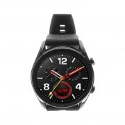 Huawei Watch GT Elegant schwarz mit Silikonarmband schwarz schwarz