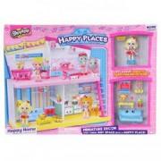 Figurine Shopkins cu casuta mobila Happy Places